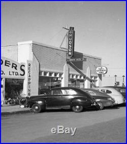 1940s Hudson Motor Co porcelain dealership neon skin sign LARGE Art Deco