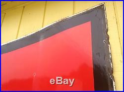 1959 Bay Porcelain Gas Station Sign