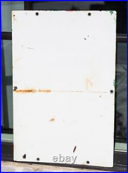 1961 Texaco Sky Chief Supreme With Petrox / Porcelain Metal Gas Pump Plate