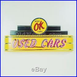 4 Ft Pontiac Neon Garage Sign Made In Usa! Gas & Oil Porcelain Sign