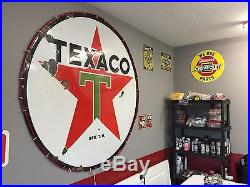 Gas Companies In Ga >> 6 Foot Texaco Porcelain Sign