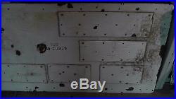 9'x3' Vtg Original 1960 Porcelain & Steel San Francisco Hwy Road Sign RARE