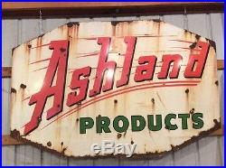 ASHLAND oil porcelain sign