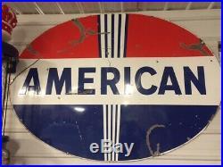 American Gas/Oil Standard Oil Porcelain Sign