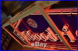 B. F. Goodrich Tires Neon Original Porcelain Sign Dealer Service Garage Gas Oil