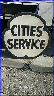 Cities Service Porcelain Sign (Double Sided) Shipping Available
