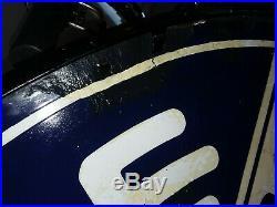 Dodge Dealership Porcelain sign / Gas & Oil Sign 42 double sided