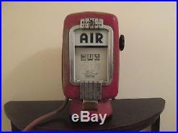 Eco Tire Air Inflator Air Pump Gas Pump Porcelain Sign