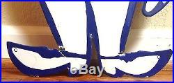 Esso Boy & Girl Oil Drop 36 Large Porcelain Display Sign Set Mint