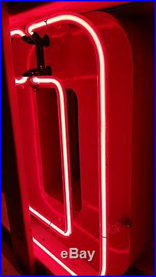 Ford Porcelain and Neon Dealership sign