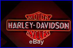 Harley Davidson Porcelain Neon 46 X 22 X 9. HUGE difference in QUALITY