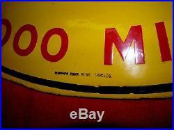 Kokomo Tires Vintage Dsp 2 Sided Porcelain Sign Orig. Real Deal-burdick Chicago