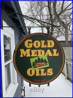 Kunz Gold Medal Oil 30 Porcelain
