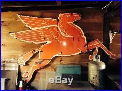 L Pegasus Porcelain Cookie Cutter Sign 9' x 7