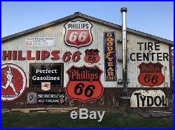 LARGE Vertical 8' GOODYEAR w Winged Foot Tire Sign PORCELAIN Gas Oil Car Truck