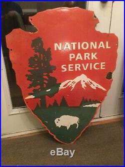 Large National Park Porcelain Sign