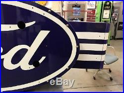 Neon Ford Painted Sign, Not Porcelain