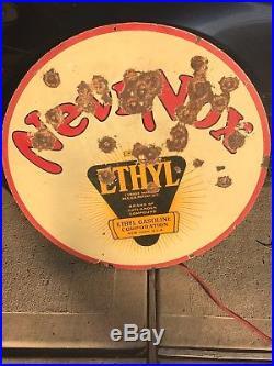 NevrNox porcelain sign-30-original