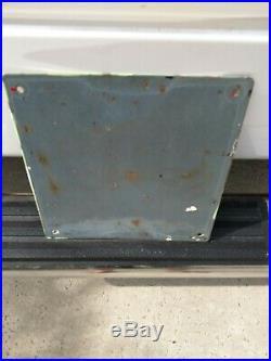 Nice Porcelain Flying A Ethyl Tidewater Gas Pump Plate Petroliana Sign