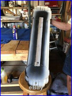 Old Porcelain Prestone Anti-Freeze Lg Thermometer