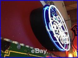 Original Ford Dealership sign porcelain neon sign 48x 24 Will Ship