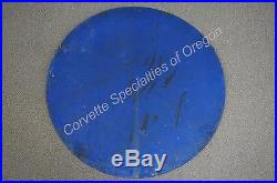 Original OK 36 Used Cars Porcelain Dealership Service Sign