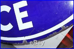 Original Packard Approved Service Double Sided Porcelain Dealership Sign 5