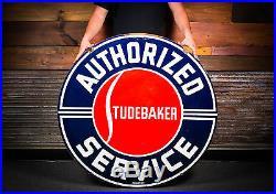 Original Porcelain Studebaker Sign