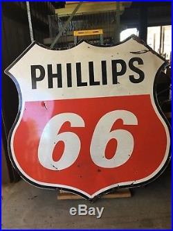 Phillips 66 70 Porcelain Sign