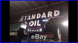 Porcelain Standard Oil Dealer Sign