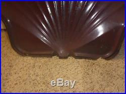RARE 40's Original SHELL Porcelain Sign OIL/GAS