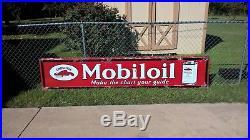 RARE Mobiloil Gargoyle Porcelain MOBIL
