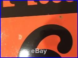 RARE ORIGINAL 30 PHILLIPS 66 OIL GAS Service STATION PORCELAIN SIGN