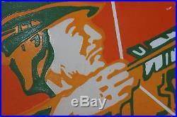Robin Hood Beer Porcelain Sign Bar Man Cave Gas Oil Coke Eagle