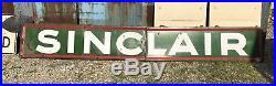 Sinclair Gas Station Sign Vintage Porcelain 14