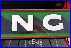 Sinclair WASHING Porcelain Sign Vintage Original Service Station NICE