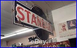 Standard Oil Double Sided Porcelain Sign