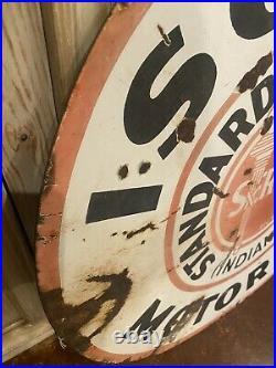 Standard Oil Iso Vis Porcelain Sign