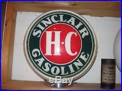 Super Save Gas Globe, Not Porcelain Sign