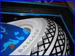 Super rare sign! 7' X 4' GOODYEAR Tire Sign PORCELAIN Gas Oil original condition