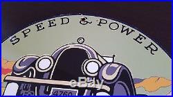 Union Gasoline & Motor Oil Porcelain Gas Pump Plate Sign Gas Station Lubester