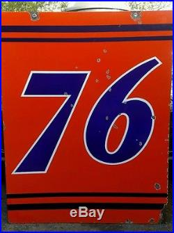 Gas Companies In Ga >> Union 76 porcelain sign
