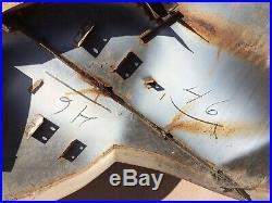 VTG Mobil Pegasus Gas Figural Sign Left Porcelain Original Flying Horse 1946