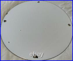 Vintage Dr Seuss Esso Gasoline Porcelain Sign Oil Gas Pump Plate Rare Cat In Hat