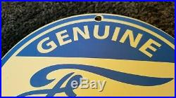 Vintage Ford Automobile Porcelain Ad Metal Gas Service Station Dealership Sign