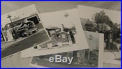 Vintage Porcelain Enamel Gas Station Island Light Fixture, Red Crown, Gulf, Pics