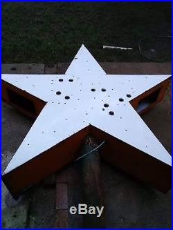 Vintage Porcelain Neon Star Holiday Inn Star. 6