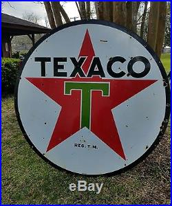 Vintage texaco porcelain sign